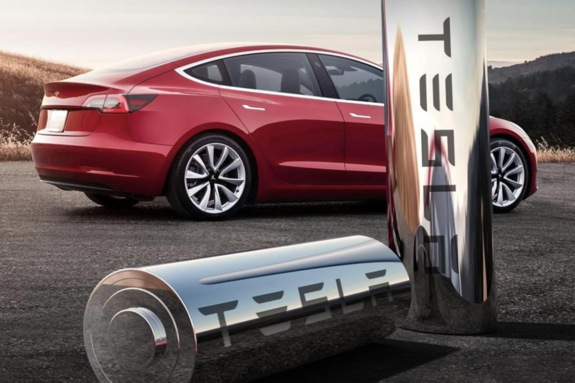 Tesla batteri