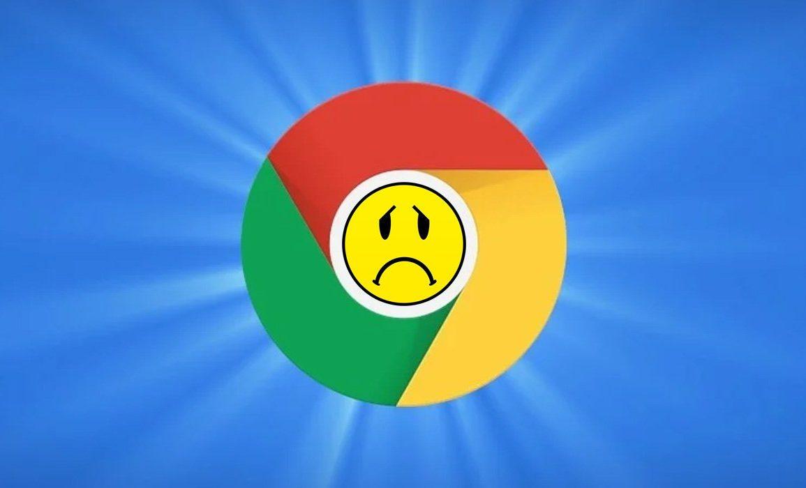 Chrome-krasj.