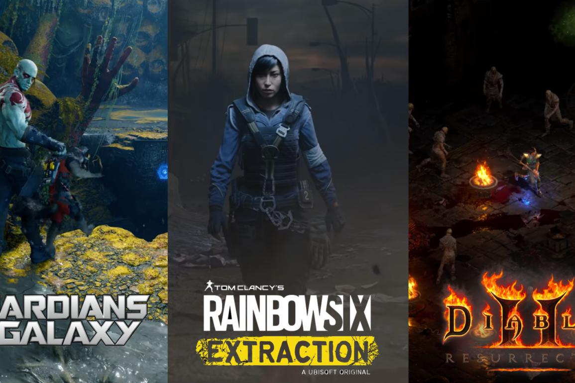 Flere nye spill og utvidelser på vei, vi har samlet flere av dem her.