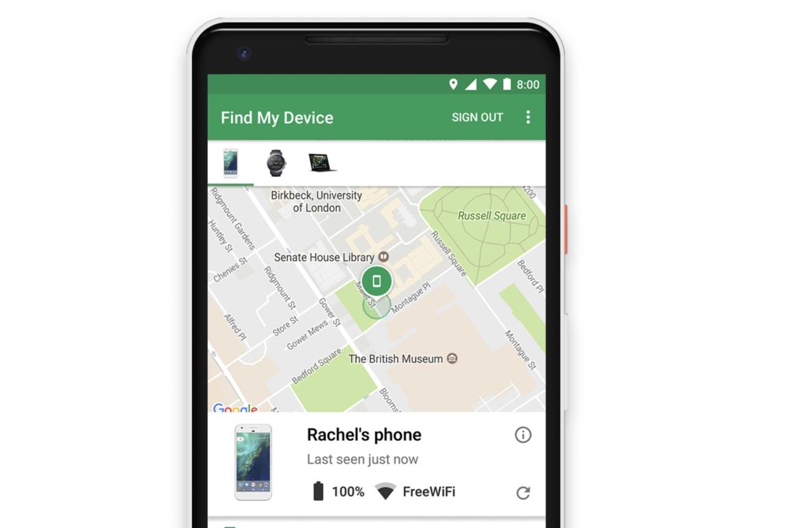 Finn min enhet på Android har så langt manglet støtte for Bluetooth, dette kan nå endre seg.
