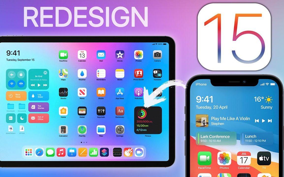 iOS 15 holdt Apple for seg selv.