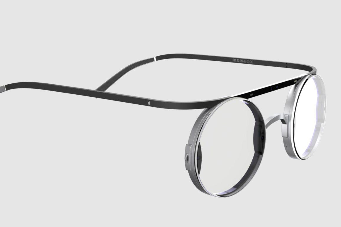 AR-briller i Steve Jobs' retro-stil.