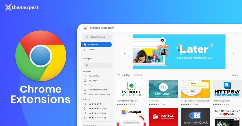 Chrome-utvidelser