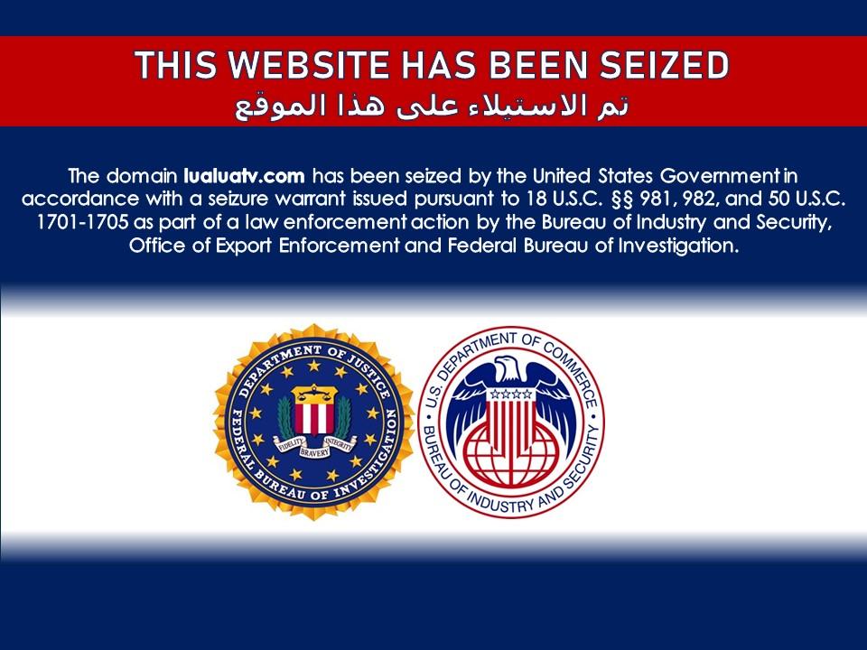 USA stenger Iran ute fra nettet.