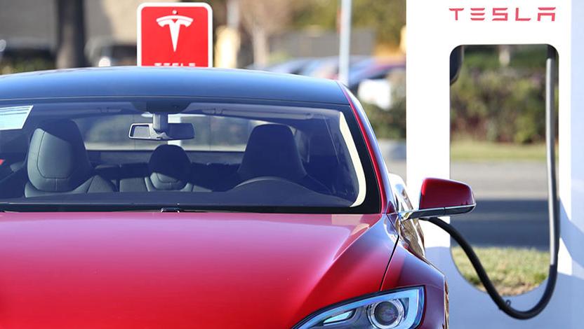 Tesla Supercharger.