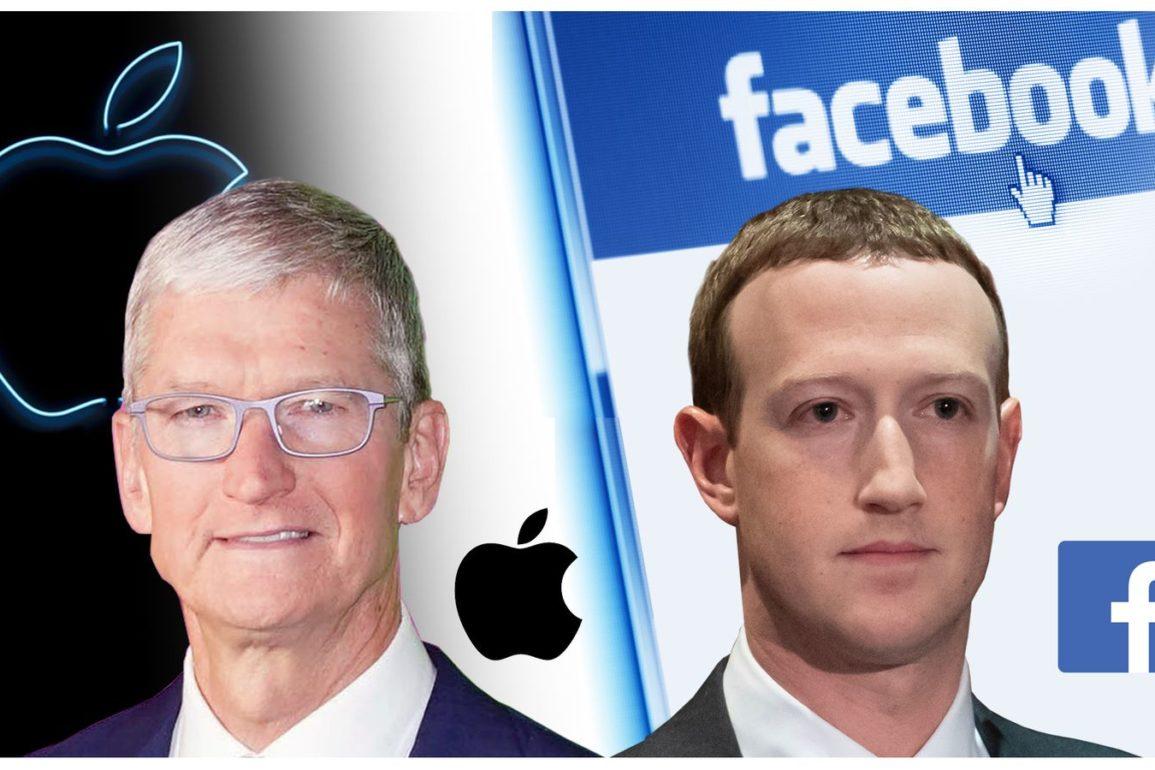 Ordkrigen mellom Facebook og Apple trappes opp.