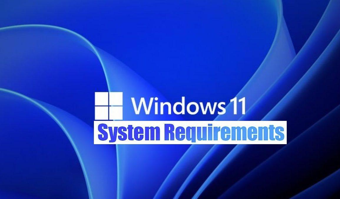 Windows 11 systemkrav.