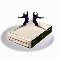 Mitsumi IDE CD-ROM brenne