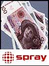 Spray og penger