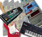 Musikk på PC illustrasjon