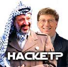 Yasser og Gates hacket?