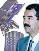 Saddam playstation