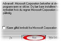 Microsoft-sertifikat