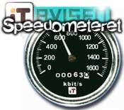 Speedometeret liten