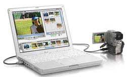 ibook med DV-kamera