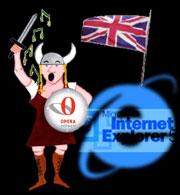 Opera microsoft IE