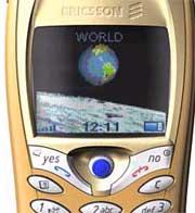 Ericsson T68 nært