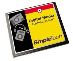 SimpleTech CF-kort