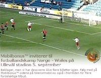 Fotball bonus telenor