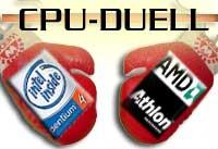 AMD Athlon vs.  Intel P4
