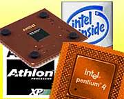Athlon XP og Pentium 4