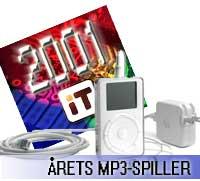 Årets MP3-spiller 2001