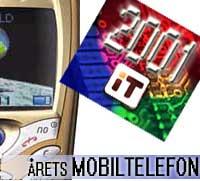 Årets mobiltelefon 2001