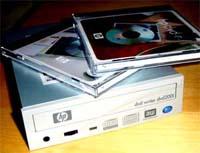 HP DVD-brenner 2