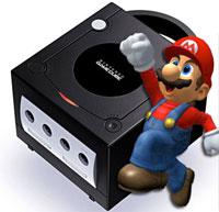 Gamecube med Mario