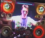 EyeToy screen