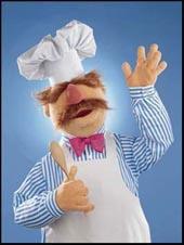 Svensk kokk muppet
