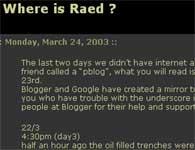 Irak-blogg