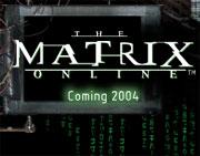 The Matrix Online logo
