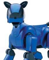 Aibo cyber-blå