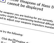 Weapons of Mass Destrucio