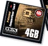 Lexar 4GB CF-kort