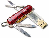 Sveitsisk USB lommekniv