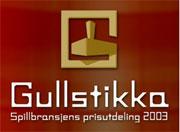 Gullstikka 2003/04