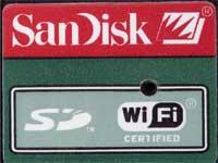 Sandisk WiFi SD-kort