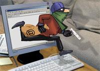 Datainnbrudd tyv