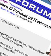 Forum skjermbilde