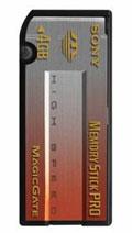 Sony Memory Stick Pro 4 GB