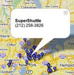 Google taxi-søk