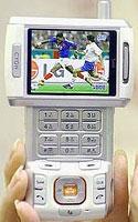 LG mobil med TV-opptak