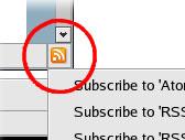 Firefox RSS-ikon