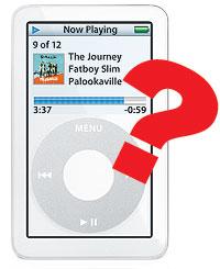 iPod video med trykkskjerm