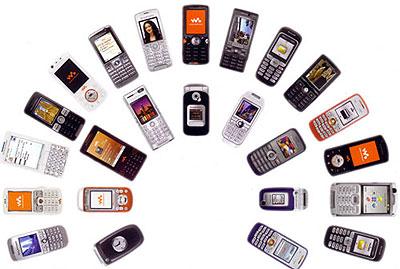 Sony Ericsson produktspekter