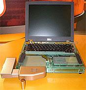 Brenselscelle bærbar PC