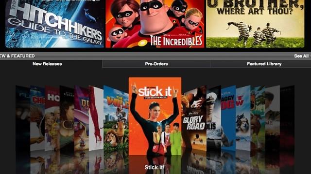 <b>BLOCKBUSTER:  </B>Slapt utvalg på filmfronten, men iTunes Store kan by på overraskende gode salgstall etter en ukes drift.