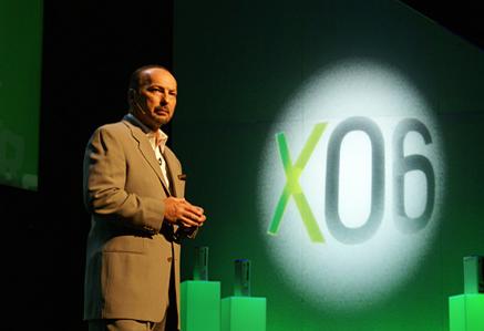 Peter Moore på X06-pressekonferansen. <i>Foto: Thomas Marynowski</i>